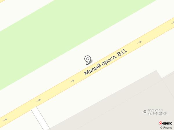 Балаклава на карте Санкт-Петербурга