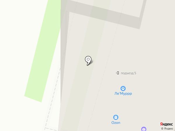 Омега Авто на карте Санкт-Петербурга