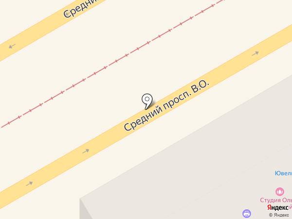 Адмиралтейское на карте Санкт-Петербурга