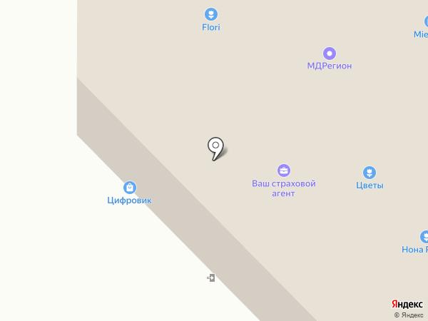Сеть магазинов товаров для курения на карте Санкт-Петербурга