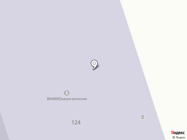 Всероссийский НИИ Океангеология им. И.С. Грамберга на карте Санкт-Петербурга