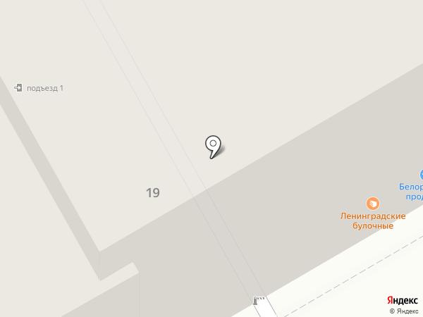 Медный всадник на карте Санкт-Петербурга