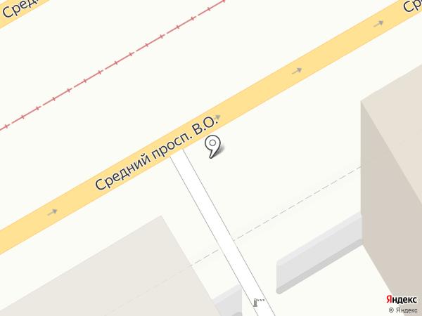 Евангелическо-лютеранский собор Святого Михаила на карте Санкт-Петербурга