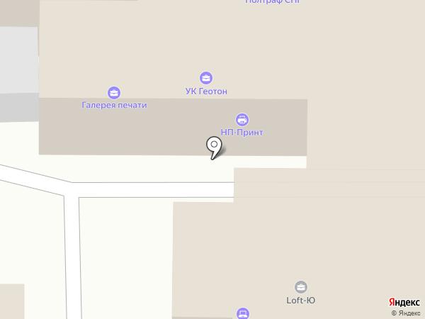 Флотенк, ЗАО на карте Санкт-Петербурга