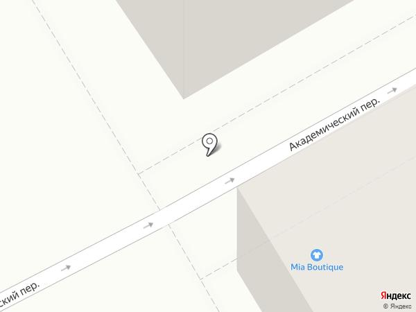 Студия красоты Александра Решара на карте Санкт-Петербурга