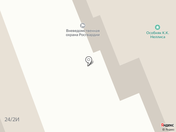 Управление вневедомственной охраны Войск национальной гвардии РФ по г. Санкт-Петербургу и Ленинградской области на карте Санкт-Петербурга