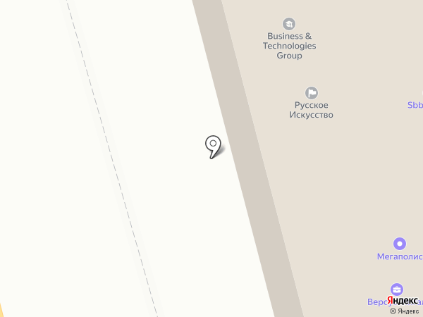Balt Flot Tanker на карте Санкт-Петербурга