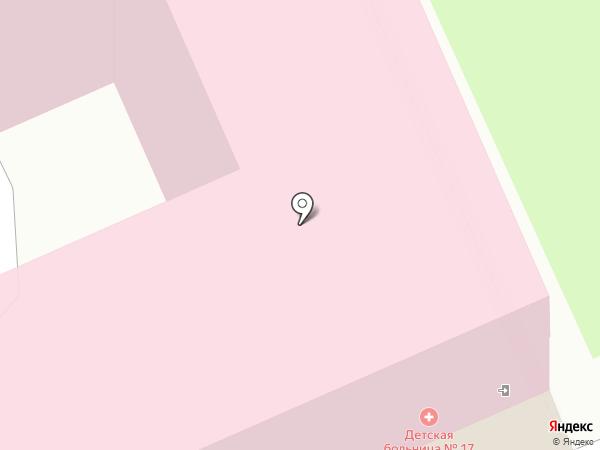 Детская городская больница №17 Святителя Николая Чудотворца на карте Санкт-Петербурга