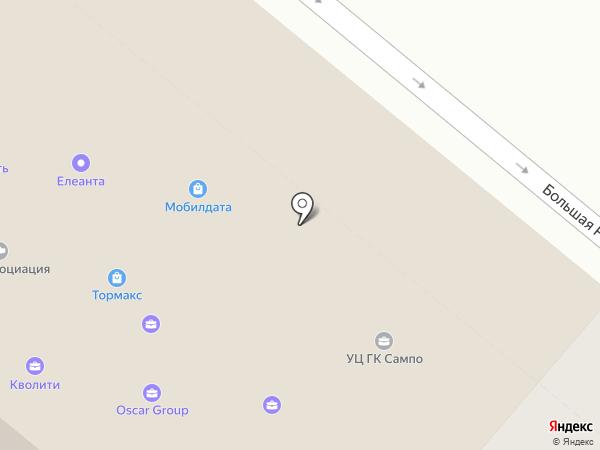 Сампо-Сервис на карте Санкт-Петербурга