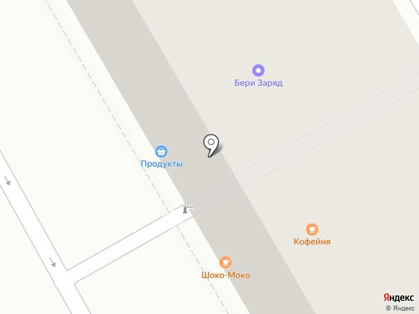 Шоко-Мокко на карте Санкт-Петербурга