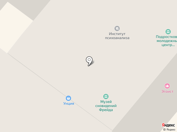 Музей сновидений Зигмунда Фрейда на карте Санкт-Петербурга