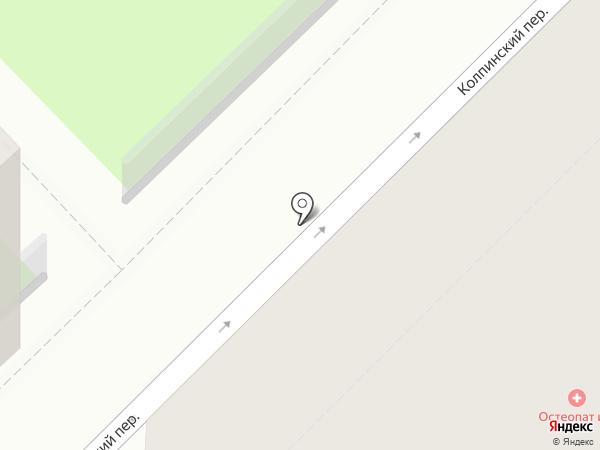 Остеопат и Я на карте Санкт-Петербурга