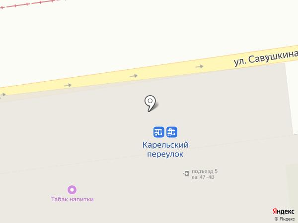 Администрация Приморского района Санкт-Петербурга на карте Санкт-Петербурга