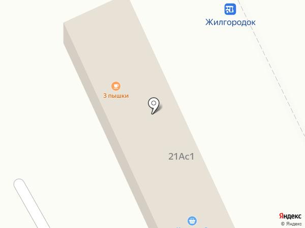 Продуктовый магазин на Приозерском шоссе (Всеволожский район) на карте Агалатово
