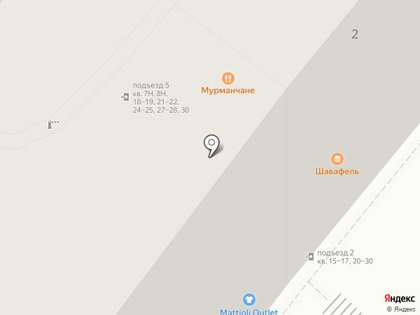 ДОМ ПОСУДЫ на карте Санкт-Петербурга