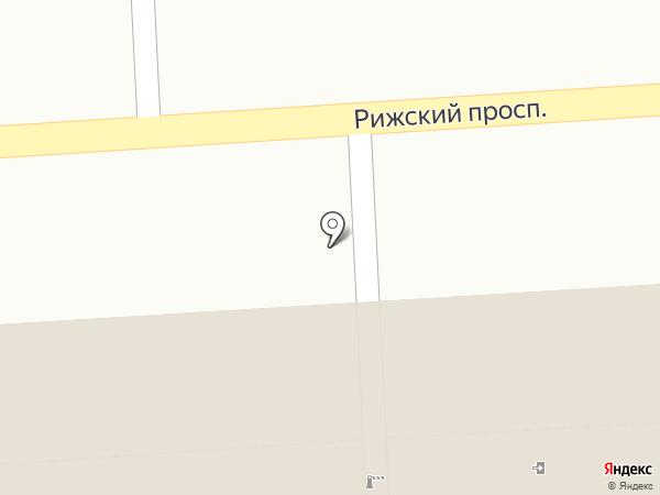 Детская школа искусств №19 на карте Санкт-Петербурга