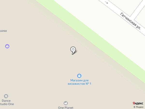 Премьер на карте Санкт-Петербурга
