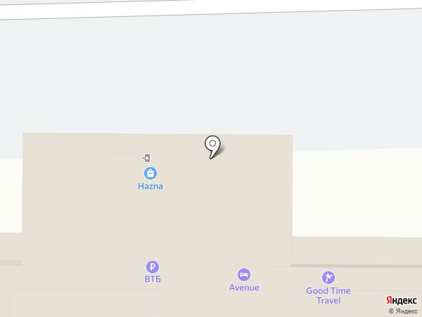 АЗИМУТ Отель Санкт-Петербург на карте Санкт-Петербурга