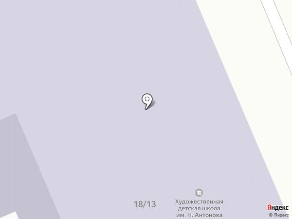 Городская художественная школа на карте Санкт-Петербурга