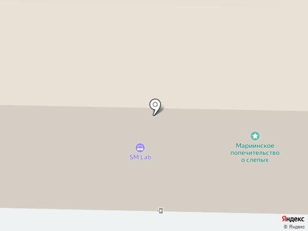 Импэкстранссервис на карте Санкт-Петербурга