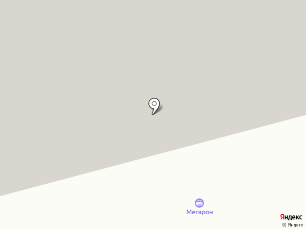 МЕГАРОН на карте Санкт-Петербурга