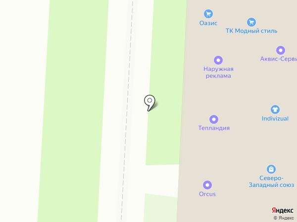 Акватекс-П на карте Санкт-Петербурга