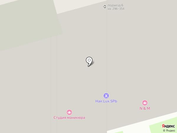 ЖСК №1357 на карте Санкт-Петербурга