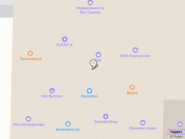 Марбел на карте Санкт-Петербурга