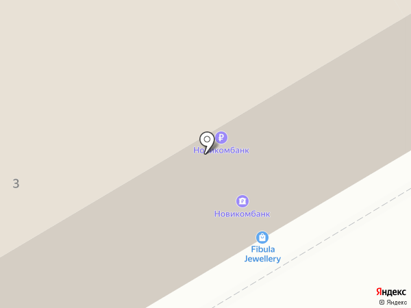 Завиток на карте Санкт-Петербурга