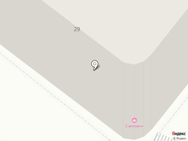 Sunpoint на карте Санкт-Петербурга