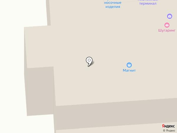 Луч на карте Агалатово