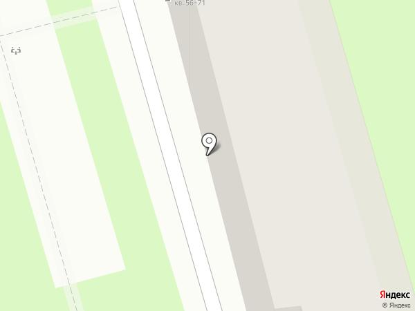 Авангард-Строитель на карте Санкт-Петербурга