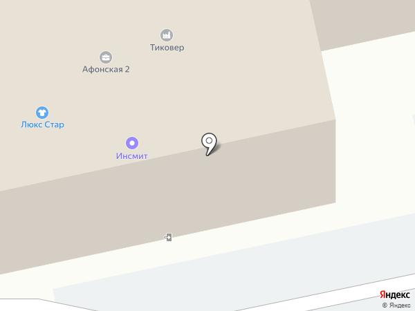 ЭНРОСА, ЗАО на карте Санкт-Петербурга