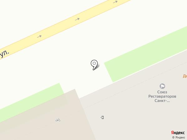 Союз реставраторов Санкт-Петербурга на карте Санкт-Петербурга