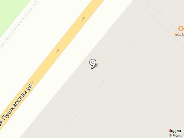 Пушкарское, ТСЖ на карте Санкт-Петербурга
