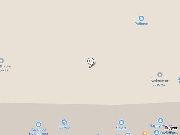 РАТТАН на карте Санкт-Петербурга