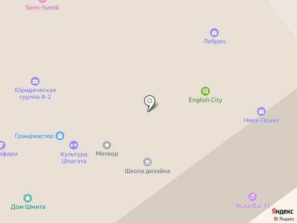 1К на карте Санкт-Петербурга