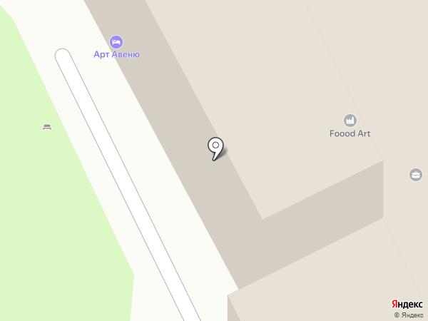 Офитек на карте Санкт-Петербурга