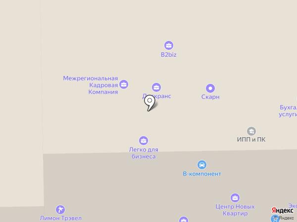 РАДИКС на карте Санкт-Петербурга