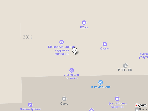 БизнесПрофи на карте Санкт-Петербурга