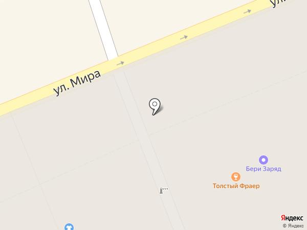 Толстый Фраер на карте Санкт-Петербурга