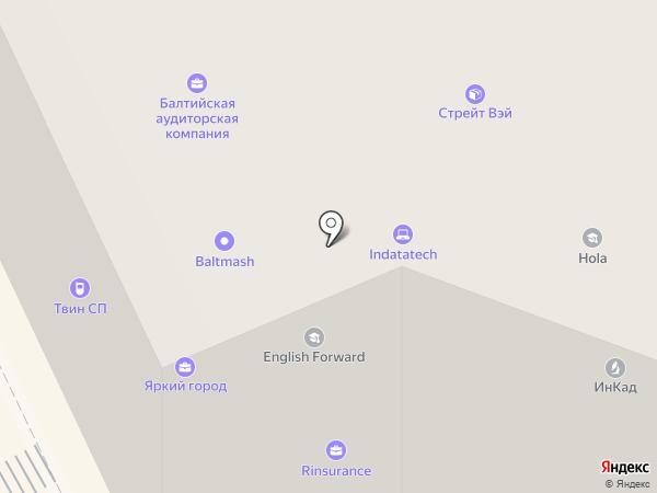 Почтовое отделение №101 на карте Санкт-Петербурга