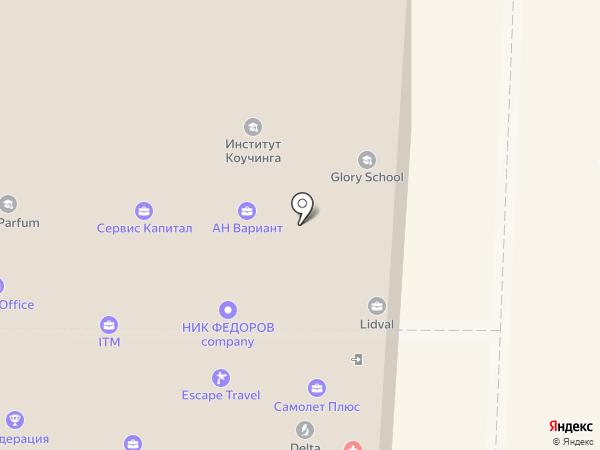 Бизнес-ИНТЕЛЛЕКТ на карте Санкт-Петербурга