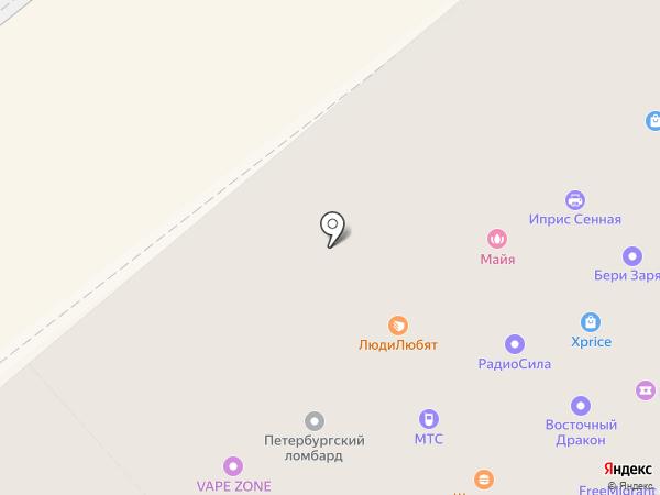 7 Чудес Света на карте Санкт-Петербурга