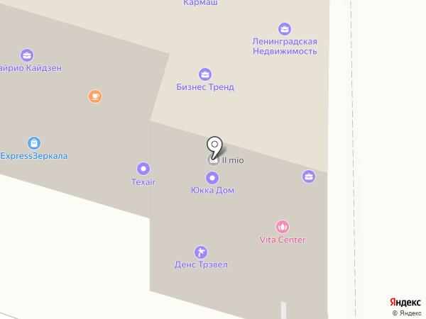 Негоциант-инжиниринг на карте Санкт-Петербурга