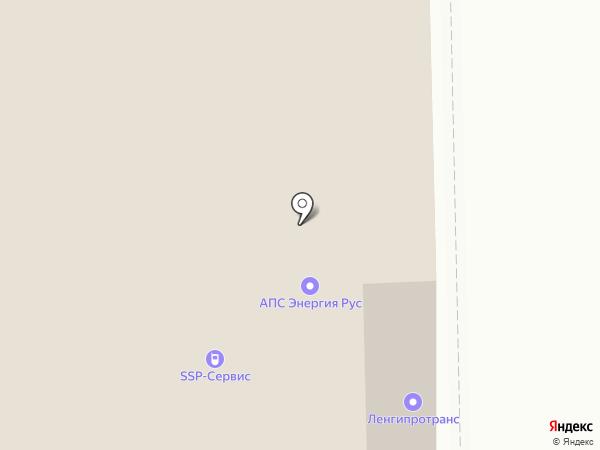 Ленгипротранс, ПАО на карте Санкт-Петербурга