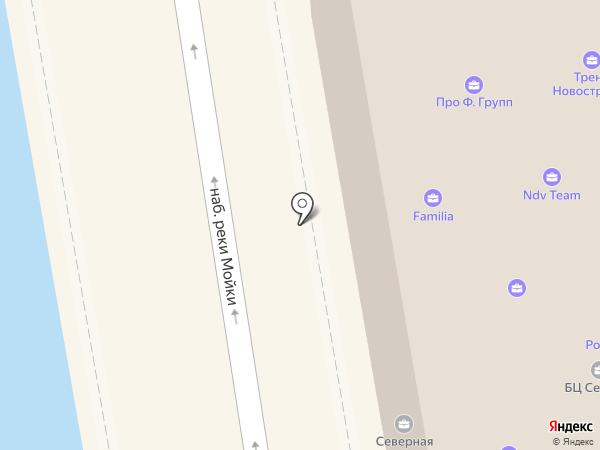 Сименс на карте Санкт-Петербурга