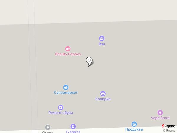ЭЛВИ на карте Санкт-Петербурга