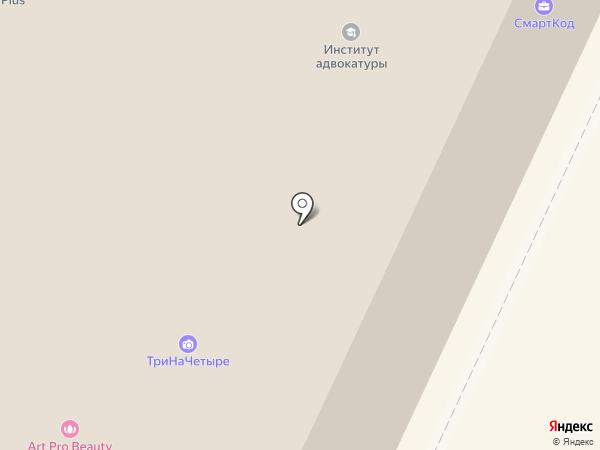 ЭВИОН на карте Санкт-Петербурга