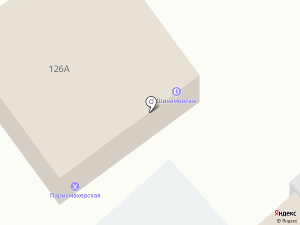 Продуктовый магазин на карте Вартемяг